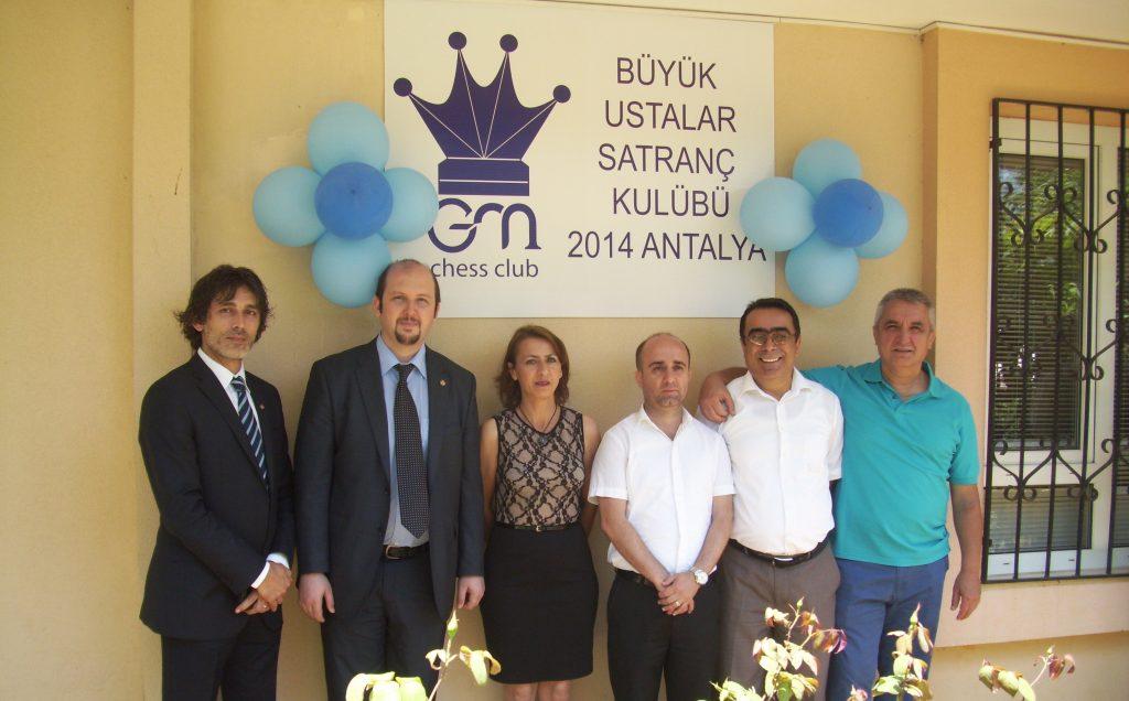 Antalya Büyük Ustalar Satranç Kulübü Lara Şubesi Açılış Töreni 08.06.2014