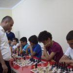 Antalya Büyük Ustalar Satranç Kulübü Lara Şubesi Açılış Töreni, GM Cemil Agamaliev Simultane Gösterisi 08.06.2014