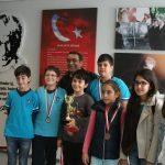 2016 Antalya Büyük Ustalar Satranç Kulübü, Küçükler Takım Turnuvası 3.'sü!!