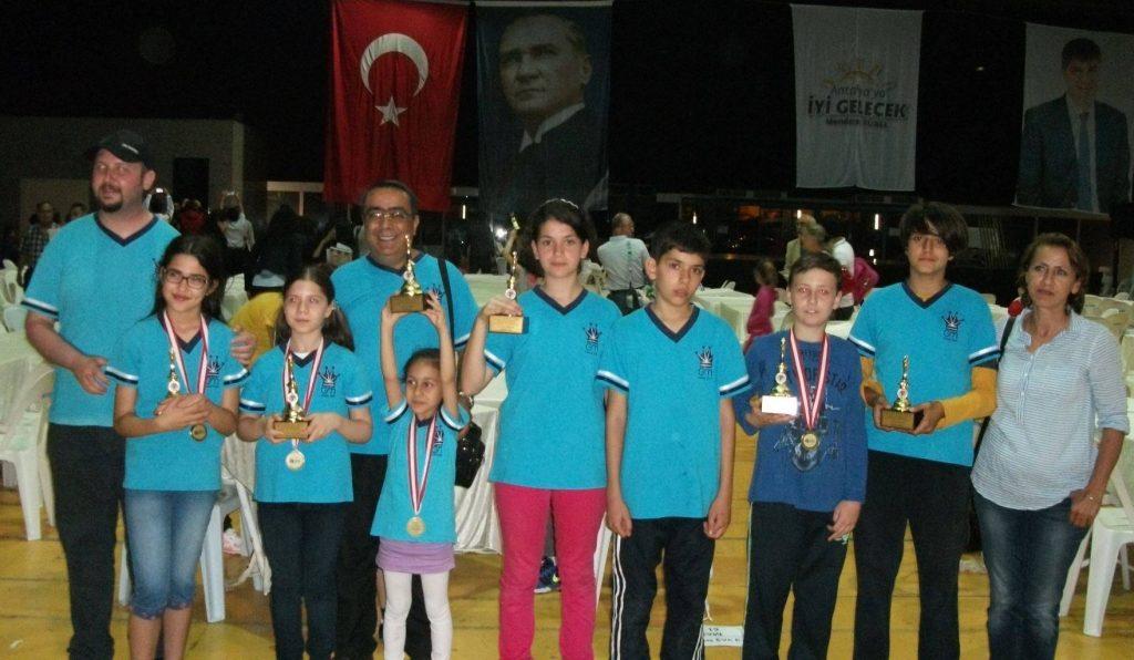 2016 Antalya 23 Nisan Ulusal Egemenlik ve Çocuk Bayramı Satranç Turnuvası Ödül Töreni 08.05.2016