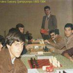 Antalya Satranç Tarihi - 1983 - 1984 Yılları, Mehmet Kahraman Fotoğraf Arşivi 3