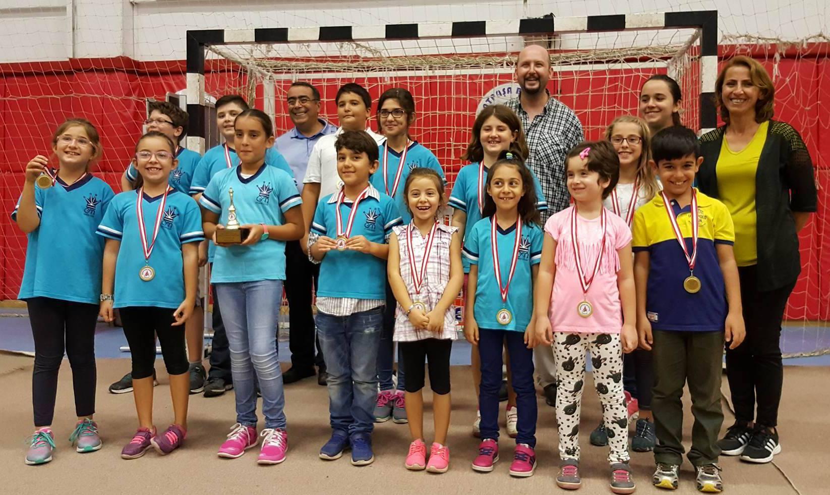 2016 Antalya Cumhuriyet Bayramı Satranç Turnuvası Ödül Töreni 30.10.2016