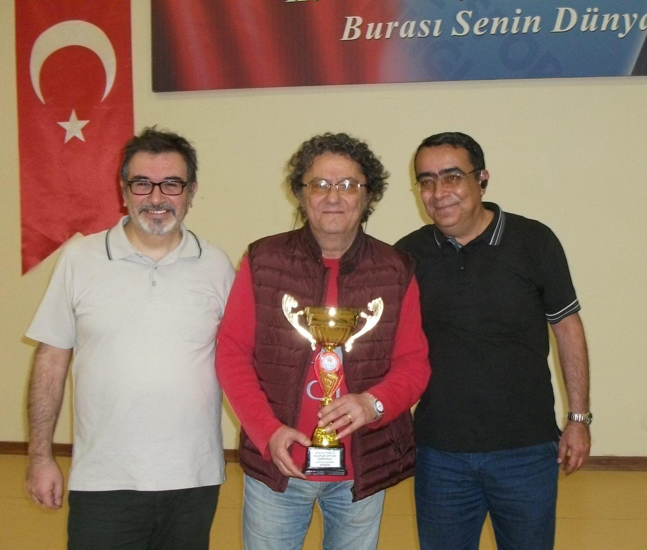 2017 Türkiye Kulüpler Şampiyonası Antalya Grubu Yarışmaları Namağlup Şampiyon Büyük Ustalar Satranç Kulübü !!