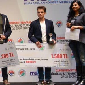 2017 Antalya 29 Ekim Cumhuriyet Bayramı Satranç Turnuvası